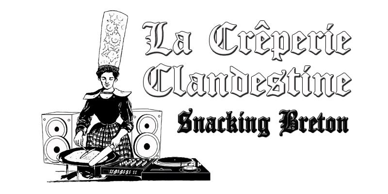 Logo Creperie Clandestine